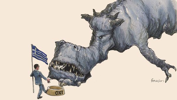Ferguson Illustration on Greece