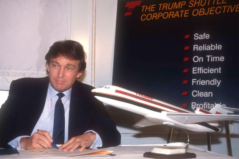 The Crash of Trump Air