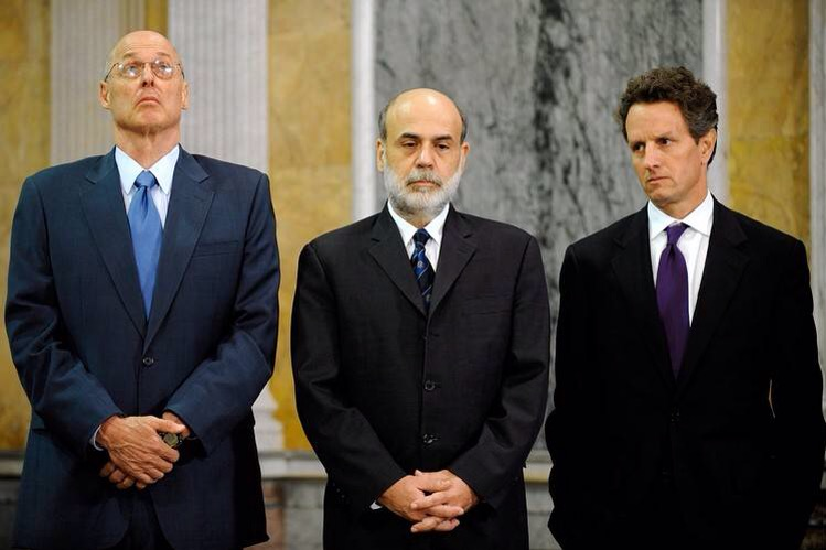 Ben Bernanke: More Execs Should Have Gone to Jail for Causing Great Recession